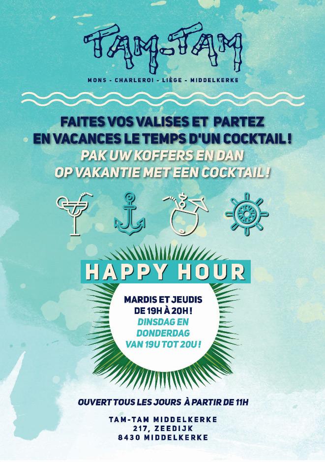 Happy Hour tamtam Middelkerke