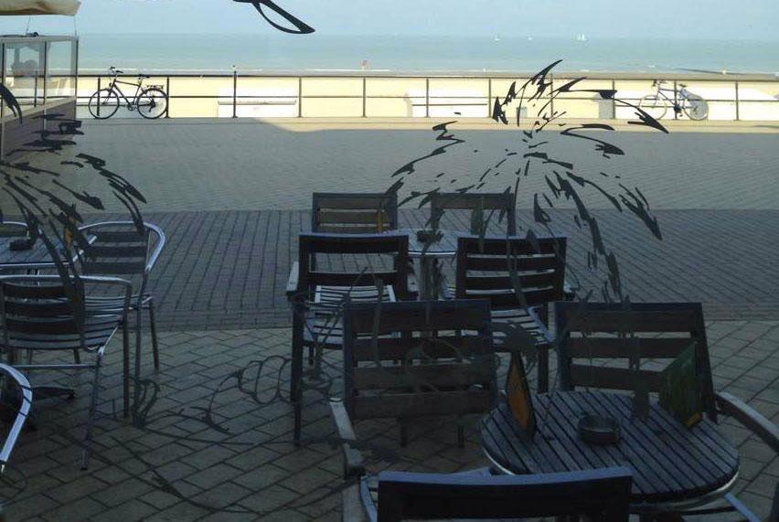 Midderlkerke vitre terrasse